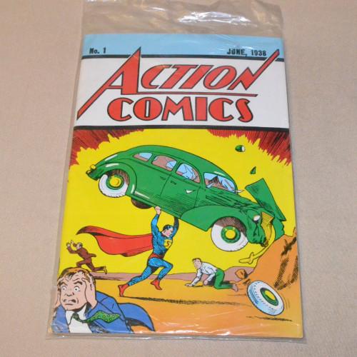 Action Comics No. 1 June, 1938 (näköispainos)