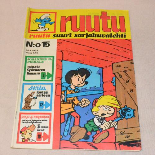 Ruutu 15 - 1974