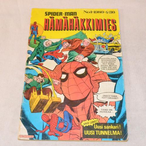 Hämähäkkimies 01 - 1980