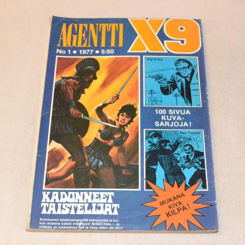 Agentti X9 01 - 1977