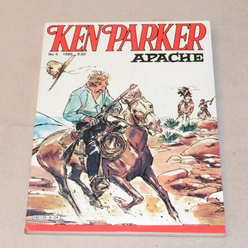 Ken Parker 4 - 1986 Apache