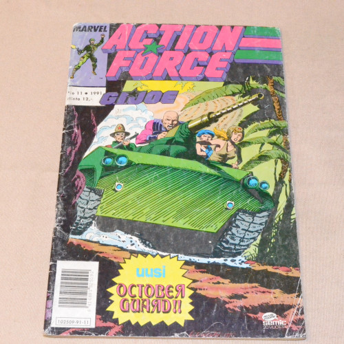 Action Force 11 - 1991