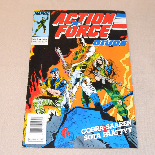 Action Force 02 - 1990