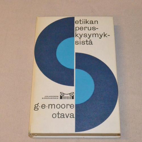 G.E. Moore Etiikan peruskysymyksistä