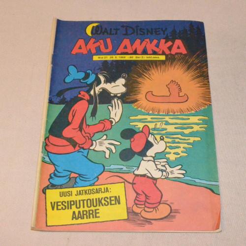 Aku Ankka 21 - 1969