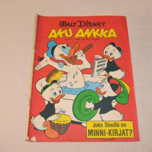 Aku Ankka 27 - 1969