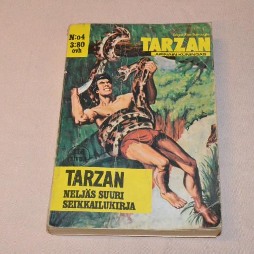 Tarzan Neljäs suuri seikkailukirja